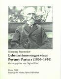 Lebenserinnerungen eines Posener Pastors (1860-1930)